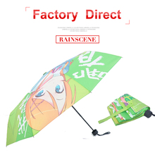 Folding style japanese girls 23 inches*8K sex beautiful girl pictures umbrella