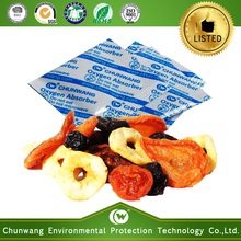 chemical products oxygen absorber packet for dried fruits and vegetables packaging bag