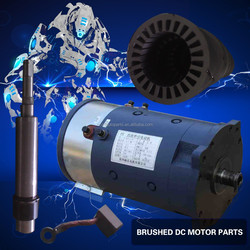 4KW 48V Brushed DC Motor and High safety coefficient and dc motor for Golf cart or Sightseeing tour buses or truck