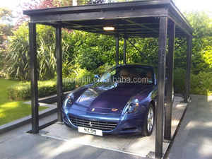 double deck motorcycle parking system/underground garage lift
