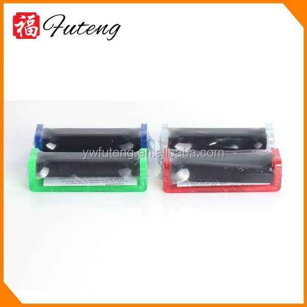 Colorful DIY make own cigarette OEM manual Acrylic 70mm tube filling cigarette rolling machine