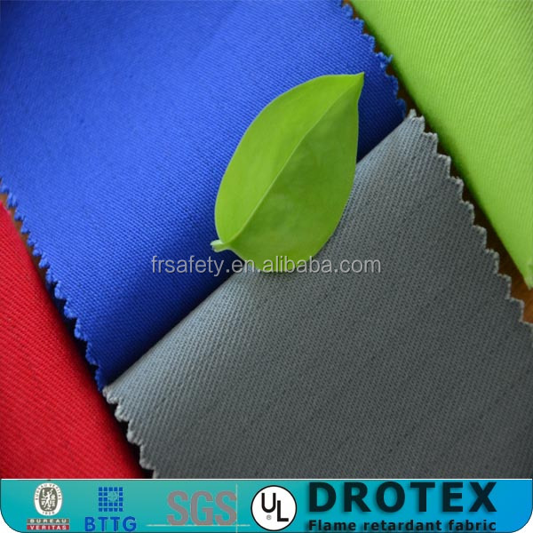 Antistatic and cold protective fire resistant clothing fabric
