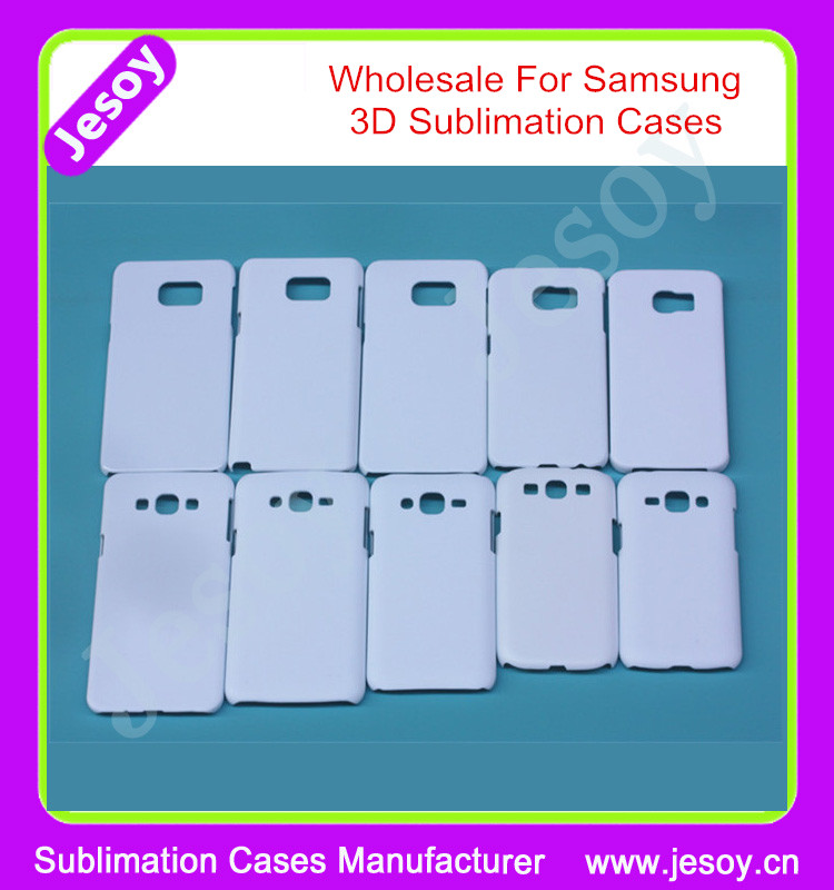 JESOY Wholesale White Matte 3D Sublimation Covers Cases For Samsung Galaxy S8