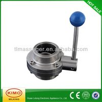 High Quality Centric Butterfly Valve,Milk Valve
