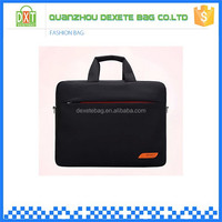 Nylon material accept custom black 17.3 inch laptop bags