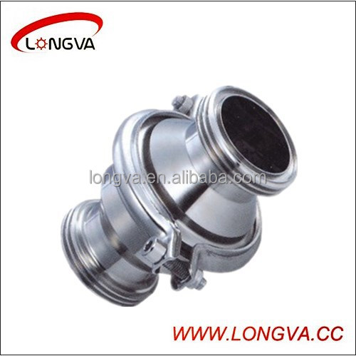 Hot sale sanitary stainless steel 304 check valve