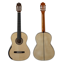 Manufacturer spanish solid top classical guitar of China