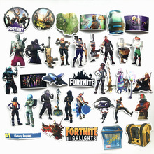 Stock wholesale 3d printed fortnite sticker