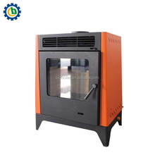 Hot selling cast iron cheap pellet stove for home heating