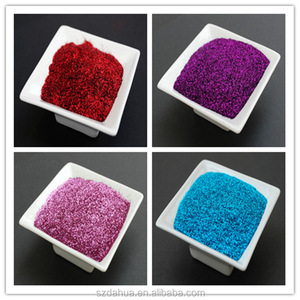 heat resistant aluminum glitter powder for plastic injection