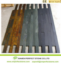 Slate Stone Packing With Natural Split Face Black Slate