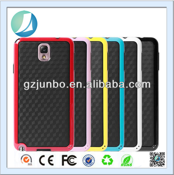 Custom carbon fiber phone case for Samsung Galaxy note 3