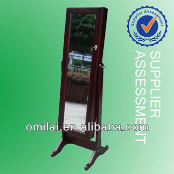 antique design floor mirror