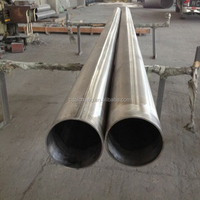 Excellent Bearing to cryogenic property GR9 titanium alloy welded pipe