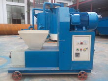 China Wood Pellet Screw Pressing Machine to make briquette for Indonesia