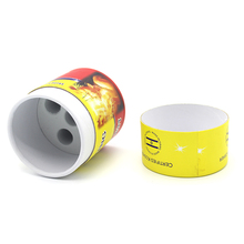 100% Recycled eco-friendly paper round cardboard cylinder packaging box with lid