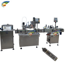 Latest technology e-liquid filling capping machine 60ml