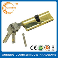 European standards brass door cylinder pad locks for lockers