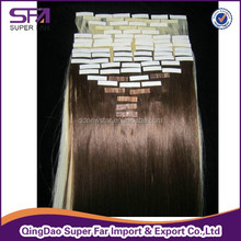 Double Sided Tape Synthetic Hair Extension wholesale price