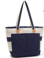 Cooler Tote Bag Fashion 2 Compartments Insulated Thermos Lunch Box