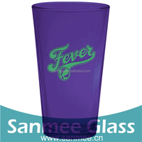 Barware Beer or Soda Cheap Price Colored Glass Cup Wholesale