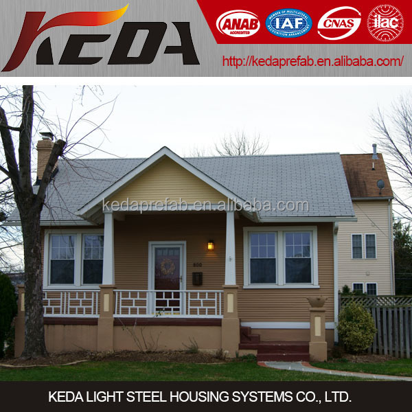 Modern Designed Luxury Light Steel Villa Prefabricated in Guangzhou China KDV211