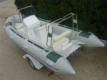 small china hypalon inflatable rib boat