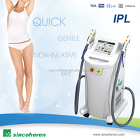 Handheld diode laser bar easy and IPL hair removal machine for salon use