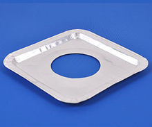disposable aluminium gas burner bibs