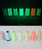 150D/2 high quality glow in the dark luminous sewing yarn embroidery thread for embroidering label