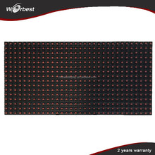New product outdoor advertising P10 single color led sign boards
