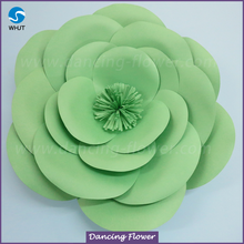 Wholesale backdrop large foam home decorative artificial flowers for wedding wall decoration