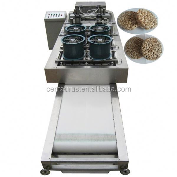 2017 most popular puffed chocolate rice ball/cake/bar making machine with high efficient and low energy consumption