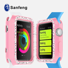 2015 New products Alibaba smart watch screen protector wholesale case for Apple Watch OEM