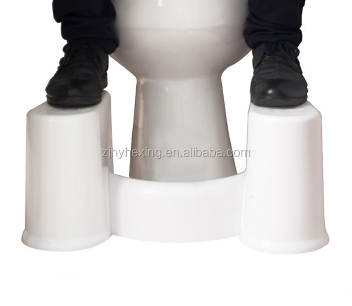 Family Toilet Stool Natural Aid for Constipation Hemorrhoids Pelvic Floor