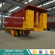 High quality 2 3 4 Axle Dump tipper truck semi trailer