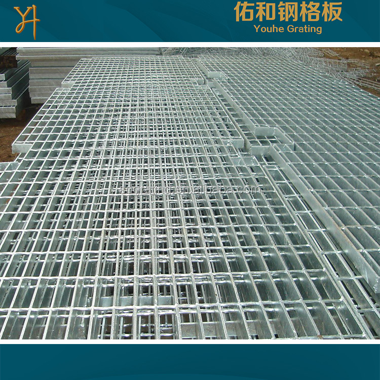 galvanized steel grating standard size galvanized steel bar grating sheet for petroleum chemical