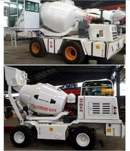 Self loading concrete mixer with digital weighting system self loading concrete feeding mixer with truck in china factory