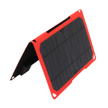 10W sunpower usb folding solar panel the lowest prices camping solar panel