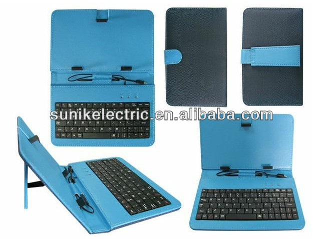 "Promotion Andriod 7"" tablet pc keyboard case with beautiful design"