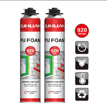 JUHUAN 500ml Water proof expanding polyurethane foam sealant for home decoration
