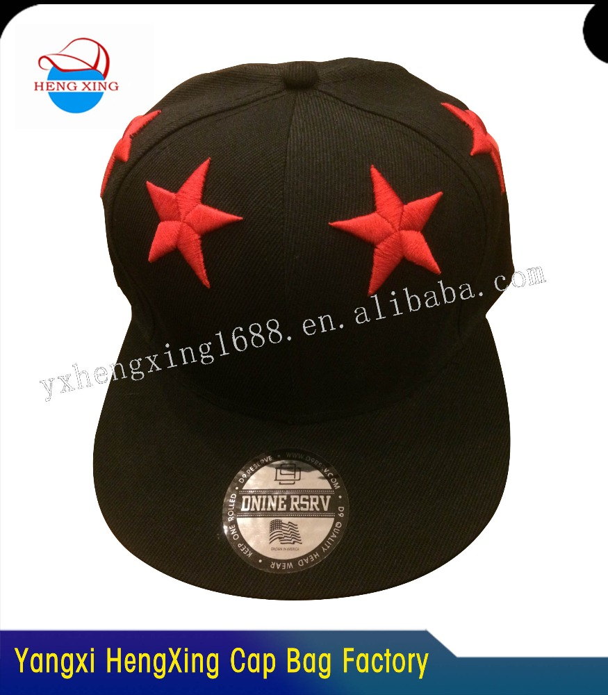 Wholesale High Quality Promotional Popular New Design Custom Snapback and Hat Sports Cap