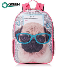 Manufacture children cute boy kids zoo animal backpack