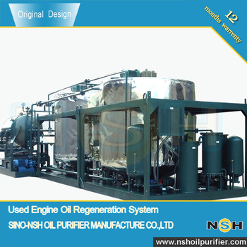 Waste Engine Oil Treatment Plant