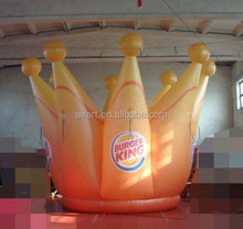 inflatable crown