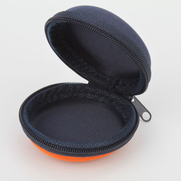 Round earphone Cases,shockproof earphone case,bag,coin case earbuds case