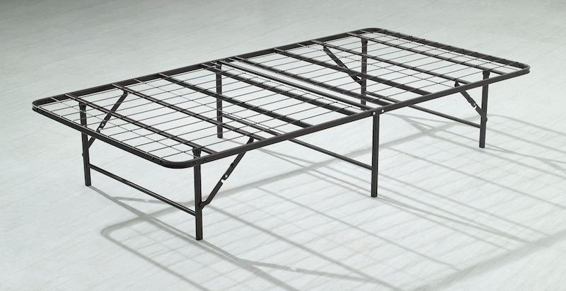 hochhaus falten metall bett rahmen 14 high bi fach. Black Bedroom Furniture Sets. Home Design Ideas