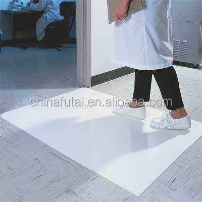Hospital cleaning dust sticky mats