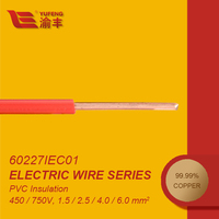 IEC60227 Factory Offer 1.5mm Hard PVC Insulated Electric Power Cable