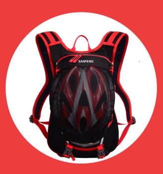 Custom Cycling Hydration Back Pack Helmet Pocket, Whosale Water proof Running Camel Backpack Bags With Water Bladder